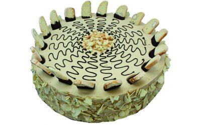 Almond Biscotten Torte