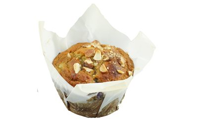 Blueberry, Apple & Almond GF Muffin