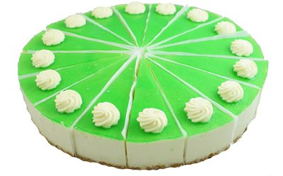 Jamaican Lime Chilled Cheesecake