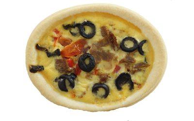 Mediterranean Individual Quiche
