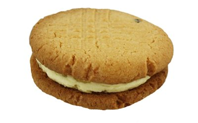 Passion Fruit Cream Biscuits