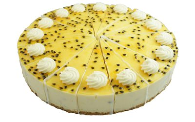 Passionfruit Chilled Cheesecake
