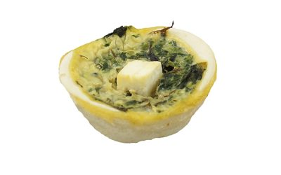 Spinach & Fetta Mini Quiche
