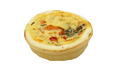 Vegetable Mini Quiche