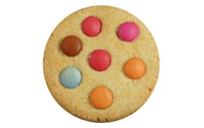 Kids Smartie Biscuit